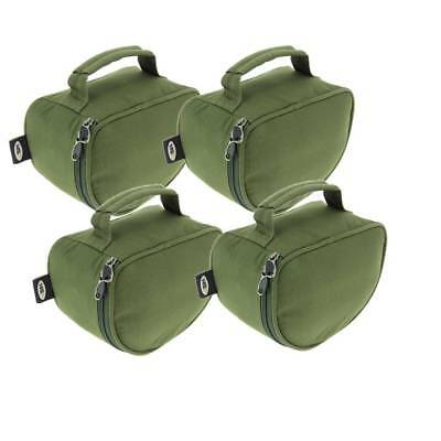 Deluxe Reel Cases fits Big Pit Reels Coarse Carp Fishing NGT X 4