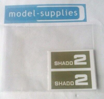 Dinky 353 SHADO 2 reproduction sticker set