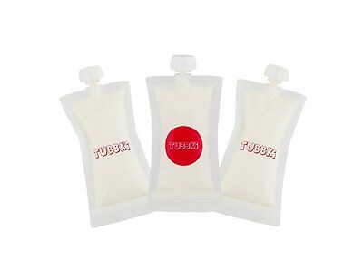 Reusable Baby Food Pouch - Tubbki - 3pack - Refillable Squeeze Pouches - Applesa