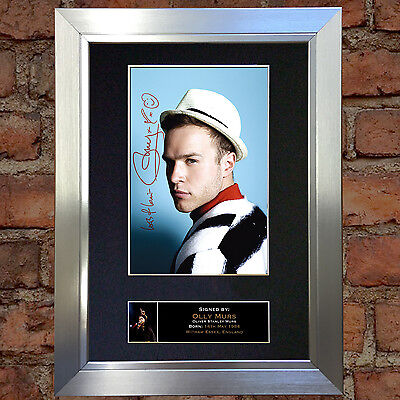 OLLY MURS No1 Signed Autograph Mounted Photo Repro A4 Print no83