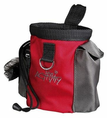 Pet Dog Training Pouch Treat Snack Bag Dispenser with Clip Attachment by TRIXIE
