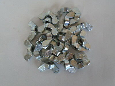Wing Nut Zinc Plated Steel M4 .70 Pitch Lot Of 100