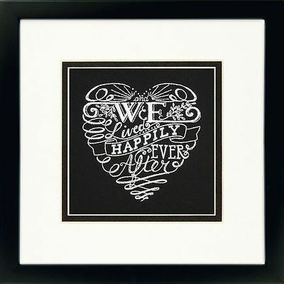 Dimensions - Crewel Embroidery Kit - Happily Ever After - D71-06245