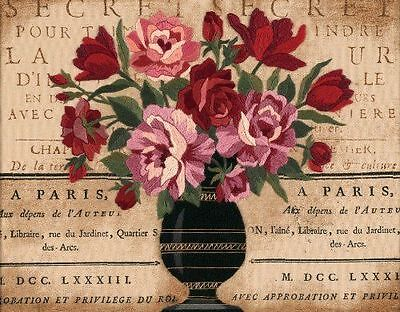 Dimensions - Crewel Embroidery Kit - Parisian Bouquet - D01542