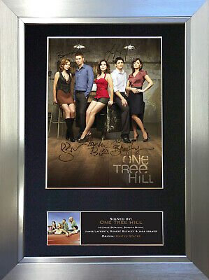 ONE TREE HILL Signed Autograph Mounted Reproduction Photo A4 Print no375