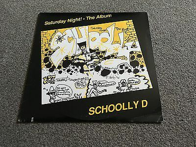 Scoolly D - Saturday Night! The Album - 1987 Usa Lp - Buy More Combine Postage