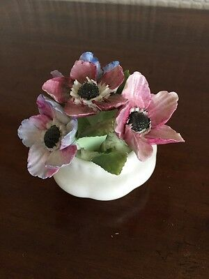 Pretty Royal Albert Anemones Flower Of The Month Ornament
