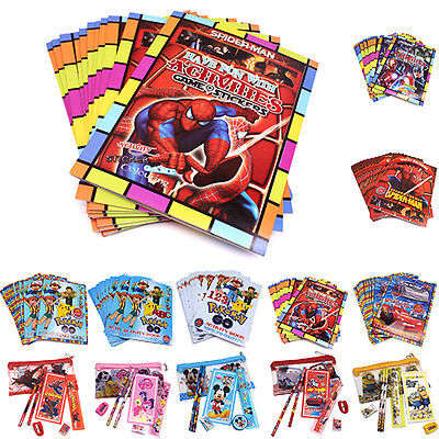 Handy Colouring Stick book Spiderman Pokemon Pony Learning&Painting Kids Toy DIY
