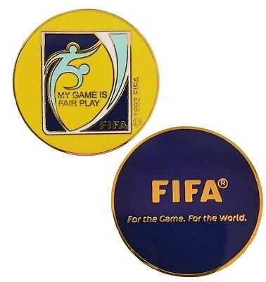 FIFA Soccer (Football) Referee Toss Coin - New Model