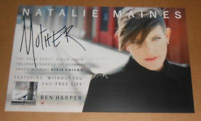 Natalie Maines Mother 2012 Promo Poster 11 x 17 Dixie Chicks