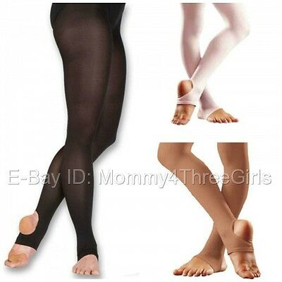 NEW Capezio Body Wrappers Bloch Balera Stirrup Dance Tights Child & Adult U Pick