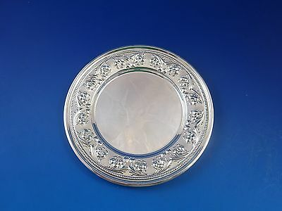 Set of 4 Sterling Silver Bread & Butter Plates by Frank M. Whiting #948