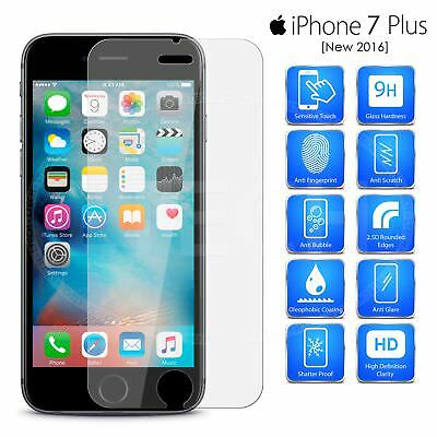 "For Apple iPhone 7S Plus / 7 Plus (5.5"") - Tempered Glass Screen Protector"