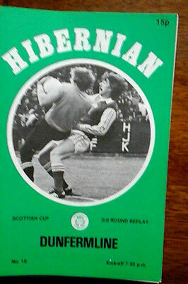 Hibs V Dunfermline  12/2/1979 Scottish Cup