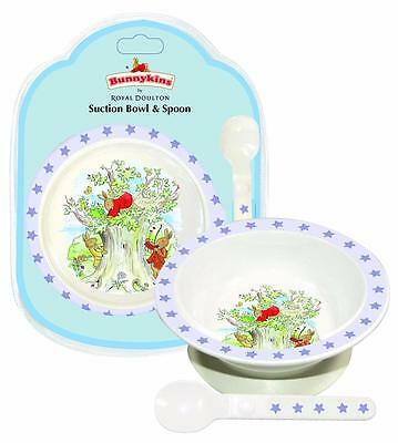 Bunnykins by Royal Doulton Suction Bowl & Spoon Shining Star (Blue)