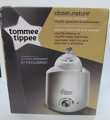 Tommee Tippee Closer To Nature Easy To Use Electric Bottle Warmer/ Food Warmer