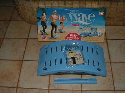 The Wave Gaiam The Firm Speed Slimming Weight Loss System NIB w/DVDS (Sealed)