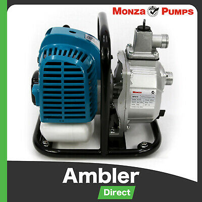 "Monza 1"" Petrol Water Transfer Pump High Pressure Irrigation Handy Pump"