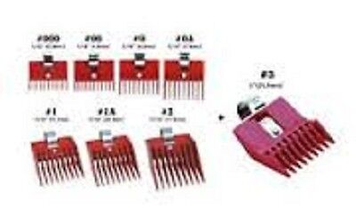 SPEED O GUIDE Universal Clipper Attachment Combs All 8 Size Fits Most Brands!!