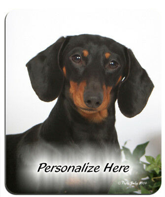 Dachshund  black  ( 68 )   Personalized  MousePad