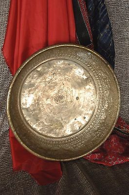 Old Hand Made Nepalese Brass Food Bowl  …beautiful patina