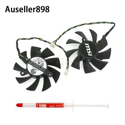For Power Logic PLA08015S12HH Rotary DC Brushless Graphics Video Card Fan