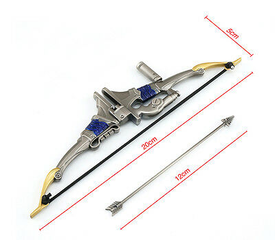 OW Hanzo Weapon Cosplay Bow and Arrow Decoration Toys In Box