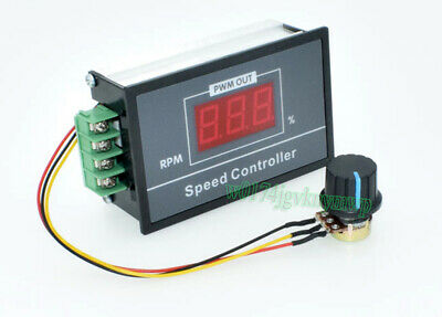 DC 5-72V 15A Digital Display PWM DC Motor Speed Controller Module Remote Control