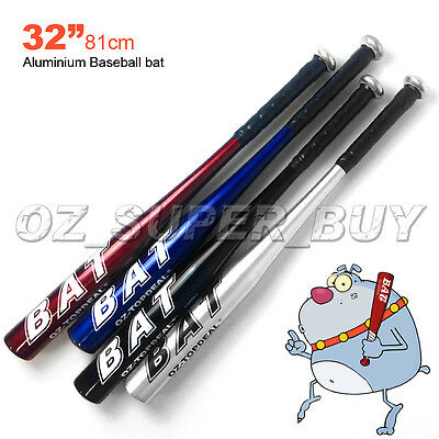 "32""81CM Aluminium Baseball Bat Racket Softball Outdoor Sports Brand New"