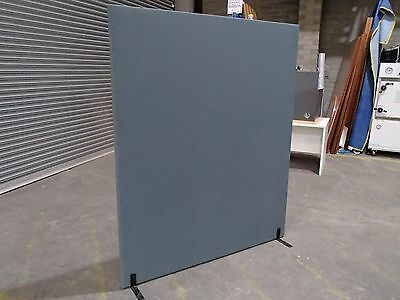Free Standing Partition/Room Divider Timber/Fabric 1800 x 1500