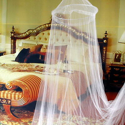 Elegant Round Lace Insect Bed Canopy Netting Curtain Dome Mosquito Net NEW OA