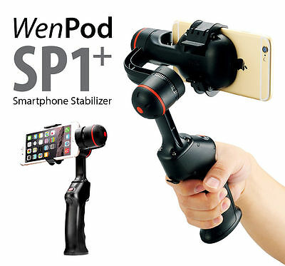 WenPod SP1+ 64 Bits SmartPhone/ iPhone Gimbal Handheld Steady Camera Stabilizer