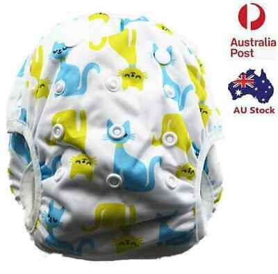 New Reusable Swim Nappy Baby Boyish Toddlers Cover Diaper Pants Nappies Swimmers