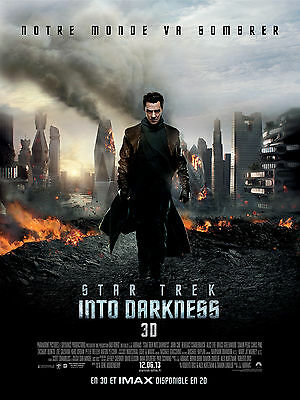 AFFICHE STAR TREK INTO DARKNESS 4x6 ft Bus Shelter Movie Poster Original 2013