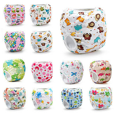 Reusable Adjustable Swim Nappy Baby Newborn Toddler Cover Diaper Pants Nappies