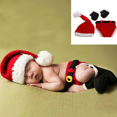 Christmas Baby Hats Hand-Knit Hat Knitted Beanie Baby Cap Handmade Autumn Winter