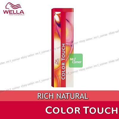 Wella Color Touch Semi Permanent Hair Dye RICH NATURAL 60ml