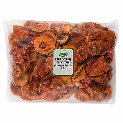 Persimmon Slices Dried (Sharon Fruits) 1kg