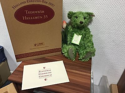 Steiff 659935 Holland 1997 Teddy Bär 35 Cm ((( Top Zustand )))