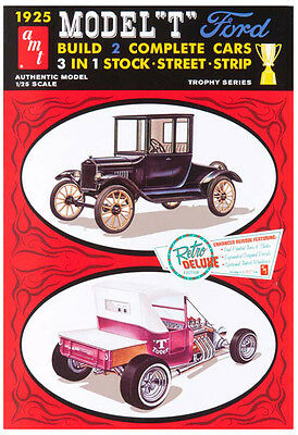 AMT 1925 Ford Tall T 1/25 Model Kit