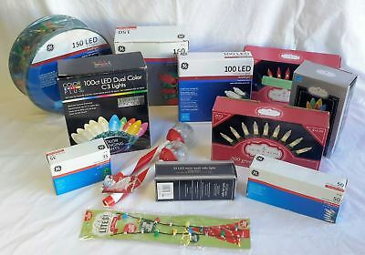 Wholesale Resale Lot of 21 Assorted Holiday Christmas Lights Brand New