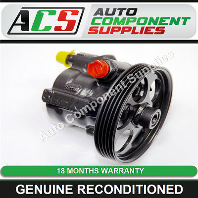 VAUXHALL VIVARO 1.9 DI, DTI POWER STEERING PUMP (5 Groove Pulley) RECONDITIONED