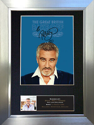 PAUL HOLLYWOOD GBR Bake Off Signed Autograph Mounted Repro Photo A4 Print no591