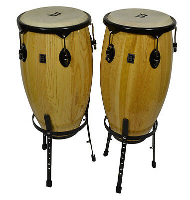 Bryce Conga Set With Stands 12 inches and 13 inches