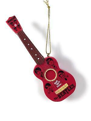 The Beatles Retro Guitar Christmas Tree Ornament by Kurt Adler