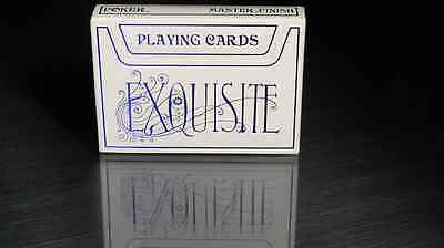 Exquisite Playing Cards (Blue) by Expert Playing Cards