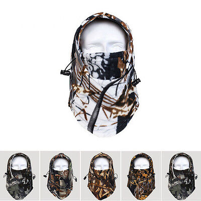 Camo Balaclava Hat Cap Hunting Snow Neck Warmer Facemask Multicolor Full Face