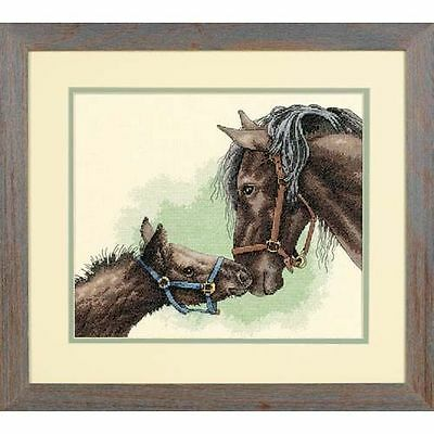 Dimensions - Counted Cross Stitch Kit - Mother & Colt - Horses - D13722