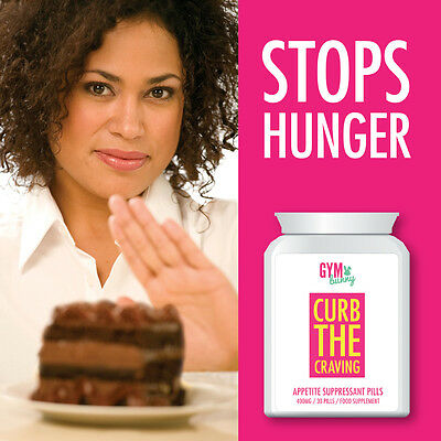 Gym Bunny Curb The Craving Appetite Suppressant Pills – Suppress Hunger Crave