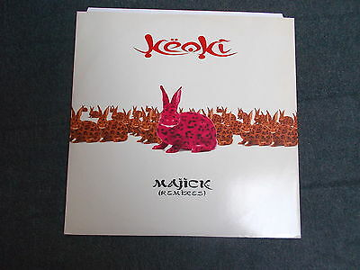 "Keoki Majick (Remixes) 12"" Moonshine Music MM 88441-1 1997"